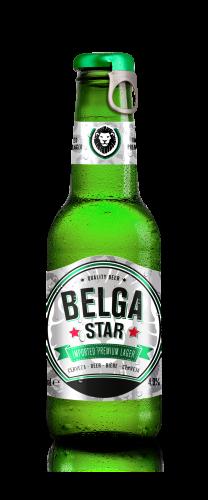 Mock up_Belgastar 4'9º_Botella 25 cl.